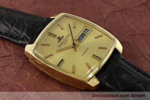 Used luxury watch Jaeger Le Coultre Club 18 ct gold automatic Kal. AS 1906  | 150703 13