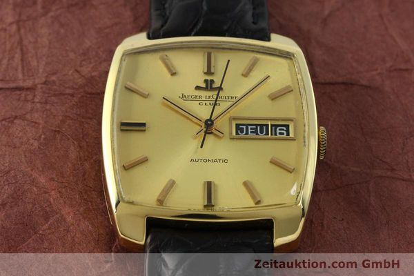 Used luxury watch Jaeger Le Coultre Club 18 ct gold automatic Kal. AS 1906  | 150703 14
