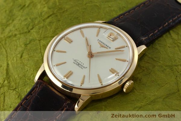 Used luxury watch Longines Conquest 18 ct gold automatic Kal. 291  | 150706 01