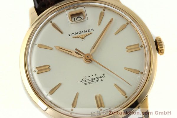 Used luxury watch Longines Conquest 18 ct gold automatic Kal. 291  | 150706 02