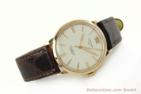 Used luxury watch Longines Conquest 18 ct gold automatic Kal. 291  | 150706 03