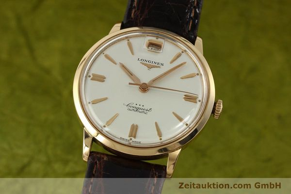 Used luxury watch Longines Conquest 18 ct gold automatic Kal. 291  | 150706 04
