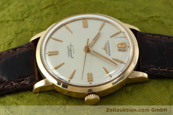 Used luxury watch Longines Conquest 18 ct gold automatic Kal. 291  | 150706 05