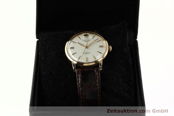 Used luxury watch Longines Conquest 18 ct gold automatic Kal. 291  | 150706 07