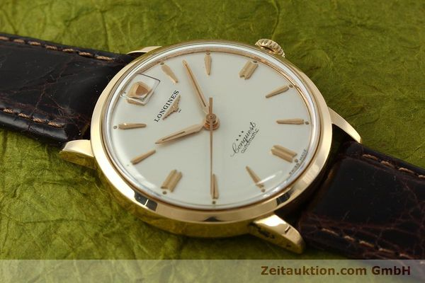 Used luxury watch Longines Conquest 18 ct gold automatic Kal. 291  | 150706 14