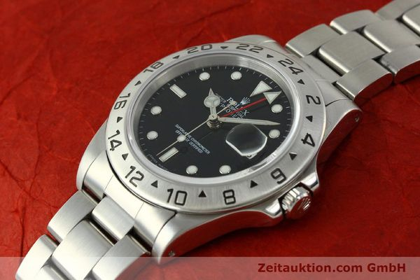 Used luxury watch Rolex Explorer II steel automatic Kal. 3185 Ref. 16570  | 150708 01