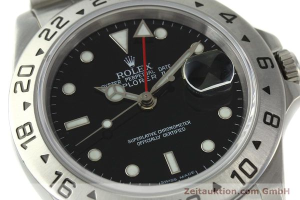 Used luxury watch Rolex Explorer II steel automatic Kal. 3185 Ref. 16570  | 150708 02