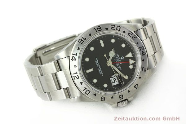 Used luxury watch Rolex Explorer II steel automatic Kal. 3185 Ref. 16570  | 150708 03