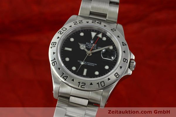Used luxury watch Rolex Explorer II steel automatic Kal. 3185 Ref. 16570  | 150708 04