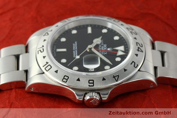 Used luxury watch Rolex Explorer II steel automatic Kal. 3185 Ref. 16570  | 150708 05