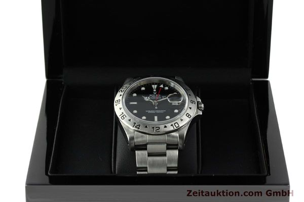 Used luxury watch Rolex Explorer II steel automatic Kal. 3185 Ref. 16570  | 150708 07