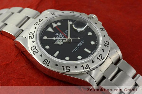 Used luxury watch Rolex Explorer II steel automatic Kal. 3185 Ref. 16570  | 150708 16