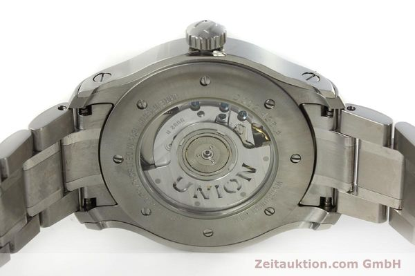 Used luxury watch Union Glashütte Belisar steel automatic Kal. U2896 ETA 2896 Ref. D002.426A  | 150714 09