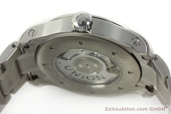 Used luxury watch Union Glashütte Belisar steel automatic Kal. U2896 ETA 2896 Ref. D002.426A  | 150714 11
