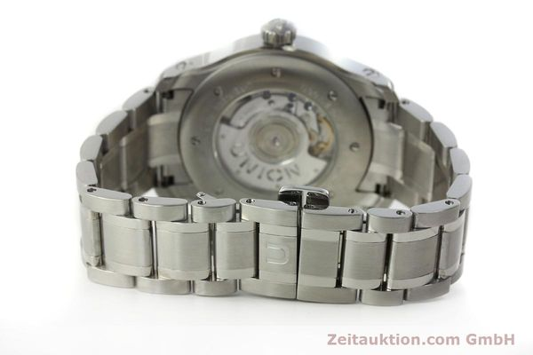 Used luxury watch Union Glashütte Belisar steel automatic Kal. U2896 ETA 2896 Ref. D002.426A  | 150714 12
