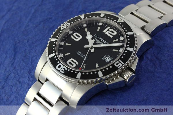Used luxury watch Longines Conquest steel automatic Kal. L633.5 ETA 2824-2 Ref. L3.642.4  | 150717 01
