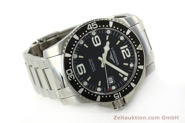 Used luxury watch Longines Conquest steel automatic Kal. L633.5 ETA 2824-2 Ref. L3.642.4  | 150717 03