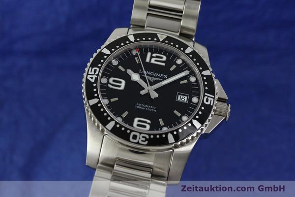 Used luxury watch Longines Conquest steel automatic Kal. L633.5 ETA 2824-2 Ref. L3.642.4  | 150717 04