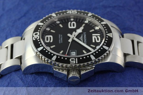 Used luxury watch Longines Conquest steel automatic Kal. L633.5 ETA 2824-2 Ref. L3.642.4  | 150717 05
