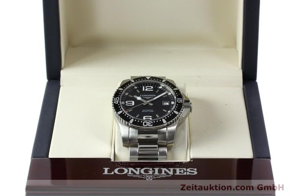 Used luxury watch Longines Conquest steel automatic Kal. L633.5 ETA 2824-2 Ref. L3.642.4  | 150717 07