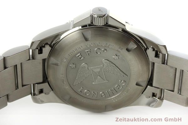Used luxury watch Longines Conquest steel automatic Kal. L633.5 ETA 2824-2 Ref. L3.642.4  | 150717 09
