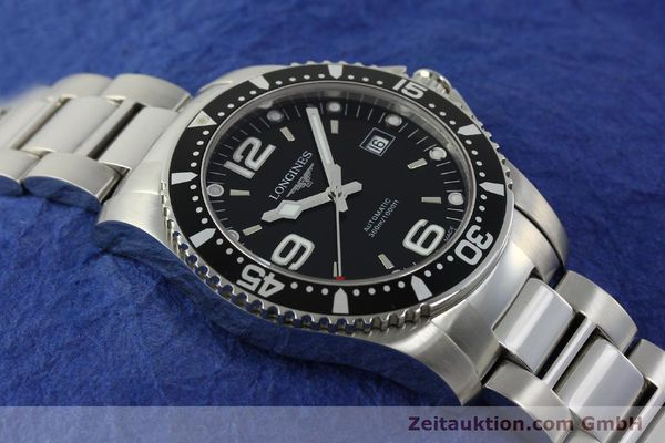 Used luxury watch Longines Conquest steel automatic Kal. L633.5 ETA 2824-2 Ref. L3.642.4  | 150717 17
