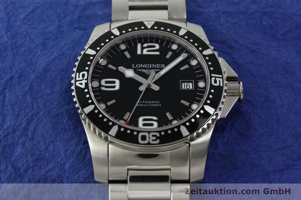 Used luxury watch Longines Conquest steel automatic Kal. L633.5 ETA 2824-2 Ref. L3.642.4  | 150717 18
