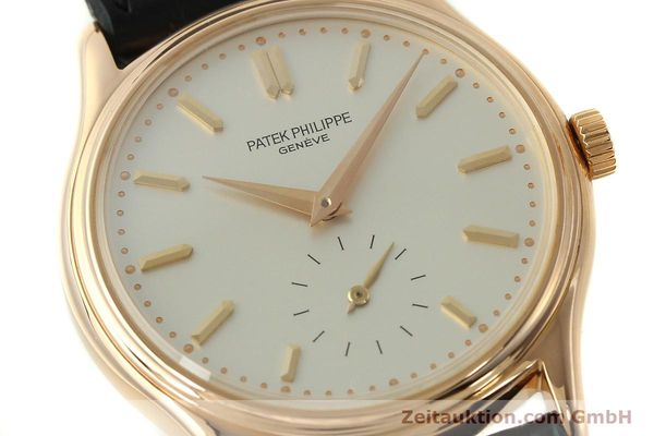 Used luxury watch Patek Philippe Calatrava 18 ct red gold manual winding Kal. 215 Ref. 3923  | 150718 02