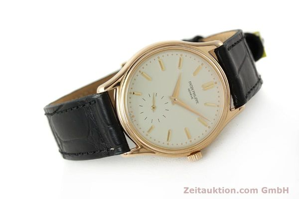 Used luxury watch Patek Philippe Calatrava 18 ct red gold manual winding Kal. 215 Ref. 3923  | 150718 03