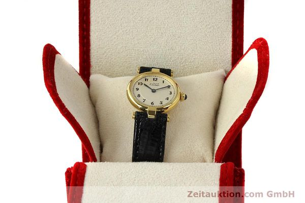 Used luxury watch Cartier Vermeil silver-gilt quartz Kal. 90  | 150721 07