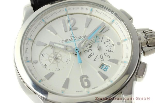 Used luxury watch Jaeger Le Coultre Master Compressor chronograph steel quartz Kal. 630/1 Ref. 148.8.31  | 150722 02
