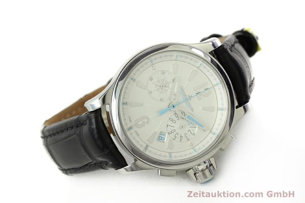 Used luxury watch Jaeger Le Coultre Master Compressor chronograph steel quartz Kal. 630/1 Ref. 148.8.31  | 150722 03