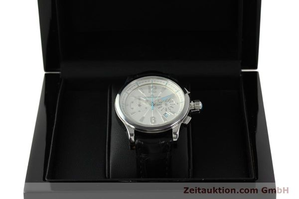 Used luxury watch Jaeger Le Coultre Master Compressor chronograph steel quartz Kal. 630/1 Ref. 148.8.31  | 150722 07