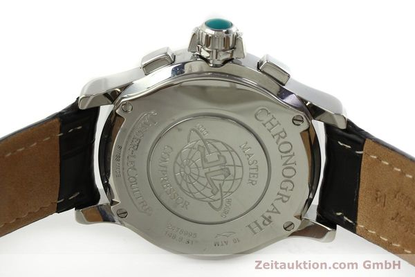 Used luxury watch Jaeger Le Coultre Master Compressor chronograph steel quartz Kal. 630/1 Ref. 148.8.31  | 150722 09