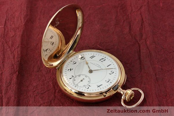 Used luxury watch Assmann Taschenuhr 14 ct red gold manual winding  | 150726 01