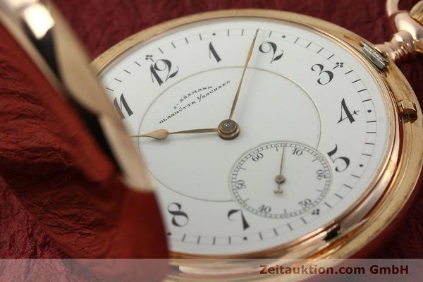 Used luxury watch Assmann Taschenuhr 14 ct red gold manual winding  | 150726 02
