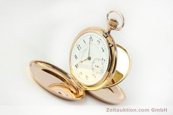 Used luxury watch Assmann Taschenuhr 14 ct red gold manual winding  | 150726 03