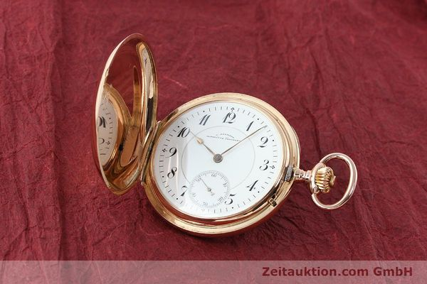 Used luxury watch Assmann Taschenuhr 14 ct red gold manual winding  | 150726 04