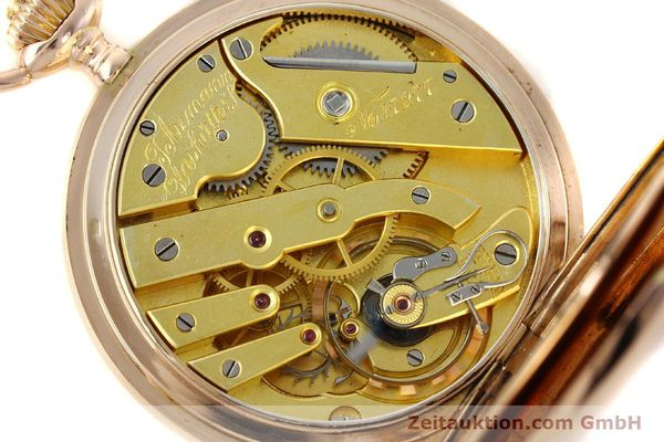 Used luxury watch Assmann Taschenuhr 14 ct red gold manual winding  | 150726 10