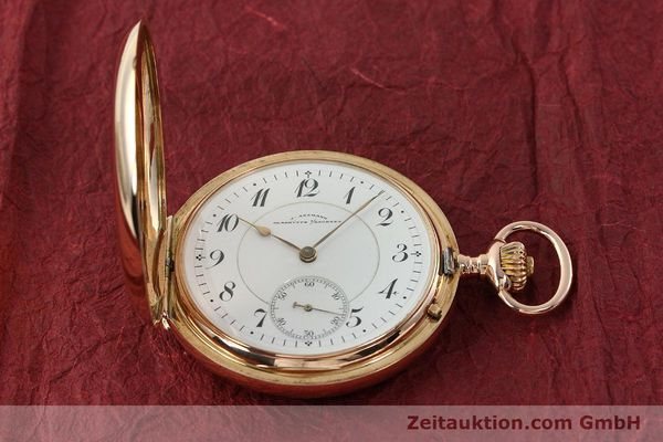 Used luxury watch Assmann Taschenuhr 14 ct red gold manual winding  | 150726 15