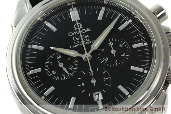 Used luxury watch Omega De Ville chronograph steel automatic Kal. 3313B  | 150727 02