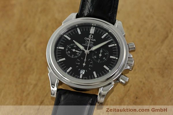 Used luxury watch Omega De Ville chronograph steel automatic Kal. 3313B  | 150727 04