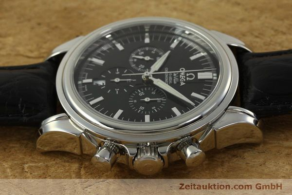 Used luxury watch Omega De Ville chronograph steel automatic Kal. 3313B  | 150727 05