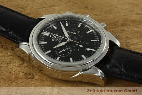 Used luxury watch Omega De Ville chronograph steel automatic Kal. 3313B  | 150727 13