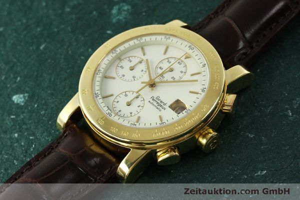 Used luxury watch Girard Perregaux 7000 chronograph 18 ct gold automatic Kal. 800-014 Ref. 7000  | 150729 01