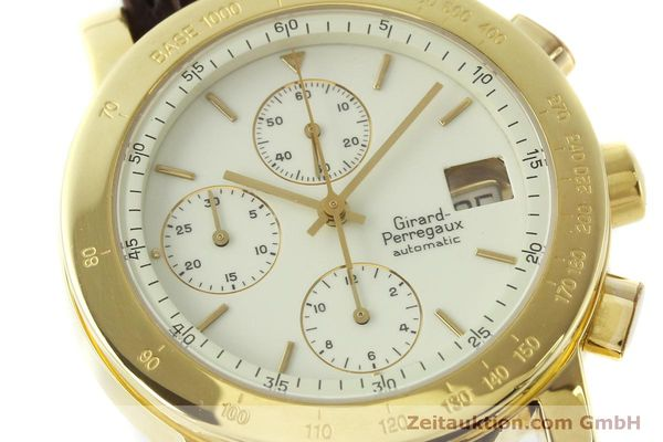 Used luxury watch Girard Perregaux 7000 chronograph 18 ct gold automatic Kal. 800-014 Ref. 7000  | 150729 02