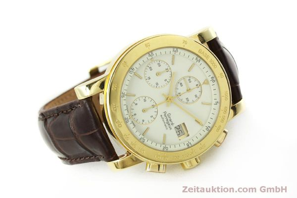 Used luxury watch Girard Perregaux 7000 chronograph 18 ct gold automatic Kal. 800-014 Ref. 7000  | 150729 03