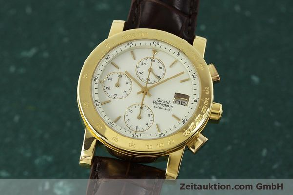 Used luxury watch Girard Perregaux 7000 chronograph 18 ct gold automatic Kal. 800-014 Ref. 7000  | 150729 04
