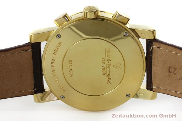 Used luxury watch Girard Perregaux 7000 chronograph 18 ct gold automatic Kal. 800-014 Ref. 7000  | 150729 08
