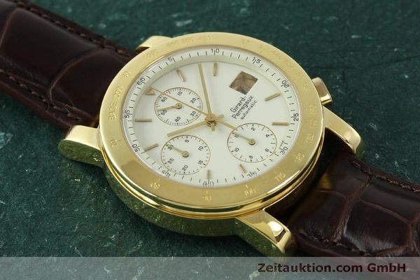 Used luxury watch Girard Perregaux 7000 chronograph 18 ct gold automatic Kal. 800-014 Ref. 7000  | 150729 14